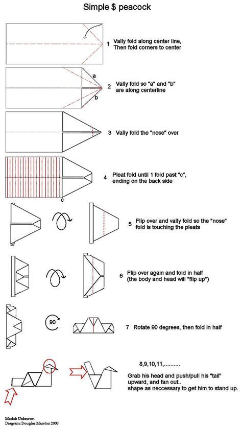money origami animals