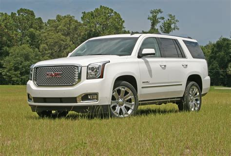 gmc yukon denali driven review top speed