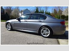 New Car Opticoat 2014 BMW 528 Space Grey Ultimate