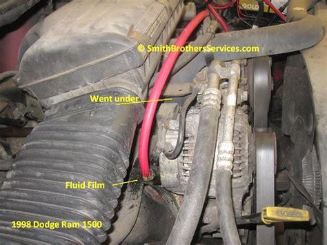 Dodge Ram Alternator Wiring Vehicle