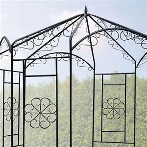 Pavillon Aus Metall : pavillon zauberwald rosenbogen rankhilfe spalier torbogen ~ Frokenaadalensverden.com Haus und Dekorationen