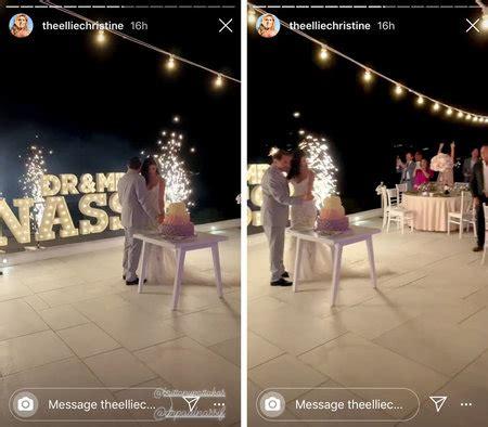 dr paul nassif  brittany pattakos wedding decor