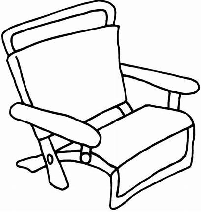 Coloring Chair Beachchair Return Miscellaneous
