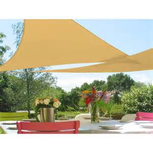 Patio Canopy Home Depot by Quictent 12 16 5 18 20 Triangle Sun Shade Sail Outdoor