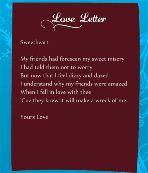 funny love letters      real mood setter
