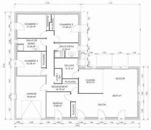Maison 120m2 Plain Pied : maison plain pied 130 m2 zq16 jornalagora ~ Melissatoandfro.com Idées de Décoration