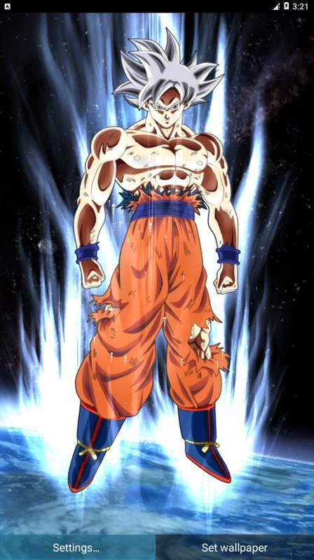 goku mastered ultra instinct  wallpaper   android