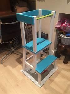 Ikea Hacks Kinder : learning tower ikea hack f r kinder kinderzimmer lernturm und kinder zimmer ~ One.caynefoto.club Haus und Dekorationen