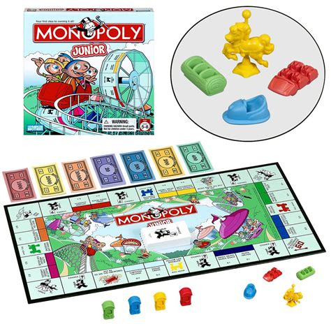 parker brothers monopoly junior  game