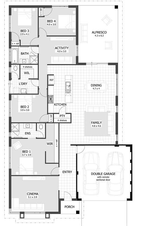 house plans 4 bedroom house plans home designs celebration homes