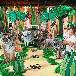 Jungle Theme Backgrounds Jungle Party Backdrops