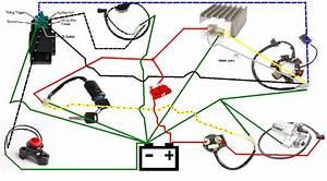 Wiring Diagram Database  Polaris Starter Solenoid Wiring