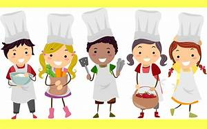 The Kitchen Clipart Kid Kitchen Pencil And In Color The