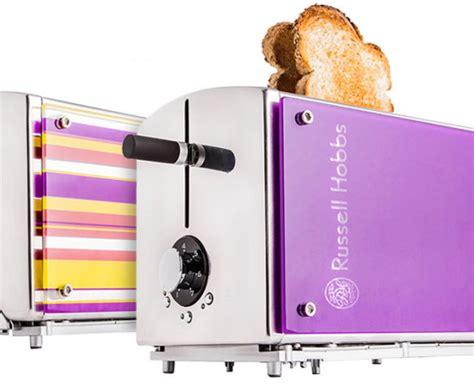 hobbs toaster purple hobbs illusions 2 slice toaster purple catch