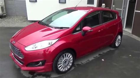 Ford Fiesta Sport Red Candy