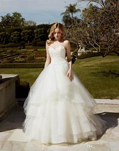 Vintage lace tulle a line 2016 wedding dresses backless for Custom made wedding dresses online