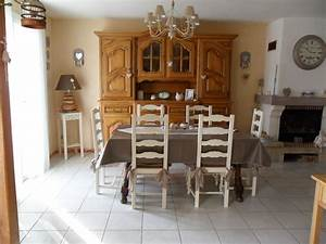 Peinture salle a manger rustique for Meuble salle À manger avec chaise salle a manger de couleur