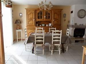 Relooking salle a manger rustique galerie et relooker for Deco cuisine avec salle a manger merisier