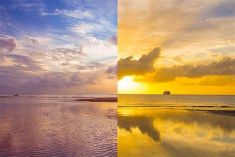 sunrise sunset day tangalooma island resort qld