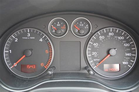audi a3 dashboard audi a3 mk2 8p dash lights