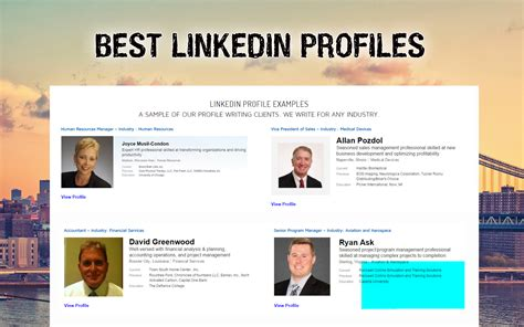LinkedIn profile examples Archives  Linked Career Growth
