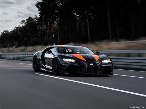 When you will compare the super sport. 2021 Bugatti Chiron Super Sport 300+ - Front Three-Quarter ...