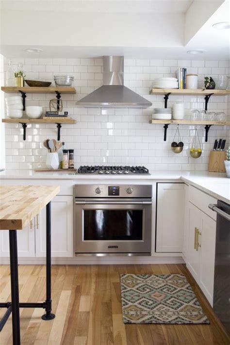 cuisine et blanc la cuisine blanche et bois en 102 photos inspirantes