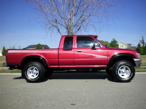 cab toyota tacoma 1994 extended pickup 4x4 deluxe pickups rust miles