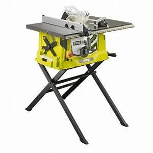 ryobi scie sur table en aluminium rts1800s 1800w achat With scie sur table maison 2 scie sur table