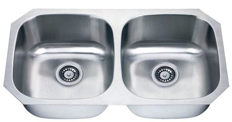 Undermount Stainless Steel 50/50 Kitchen Sink   Hardware