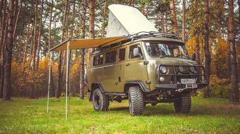 """2012 UAZ-452 2206 """"Bukhanka"""" Offroad Camper / Wohnmobil Kult"""