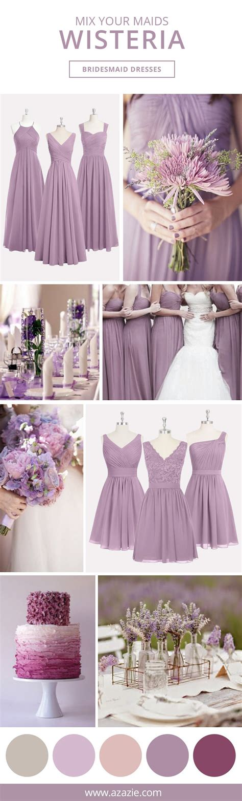 Wisteria Is A Light Shade Of Purple Which Gives Your