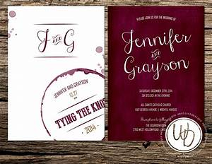 marsala wedding invitation wine wedding invitation merlot With etsy marsala wedding invitations