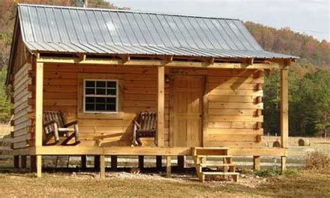 Small Hunting Cabin Plans Small Hunting Cabin Kits