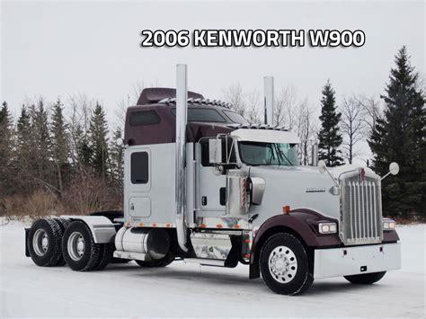 100 Kenworth W900l For Sale In Canada 2007 Kenworth