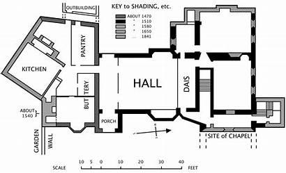 Hall Blueprint Medieval Manor Horham Plan Plans