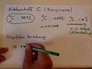 Mittlere Freie Weglänge Berechnen : mittlere atommassen bei elementen berechnen youtube ~ Themetempest.com Abrechnung