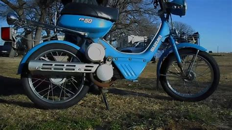 Fa50 Suzuki by Starting The 1986 Suzuki Fa50