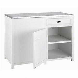 meuble bas de cuisine ouverture gauche en bois blanc l 120 With meuble bas cuisine 120 cm 10 cuisine sorbonne