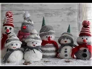 Aus Socken Basteln : schneem nner ganz leicht aus socken basteln diy sock snowman weihnachten pinterest sock ~ Watch28wear.com Haus und Dekorationen