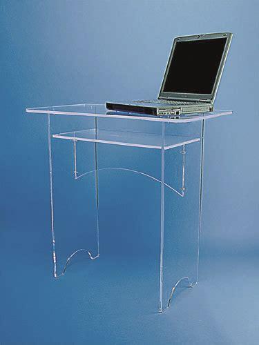 bureau plexiglas petit bureau plexiglass