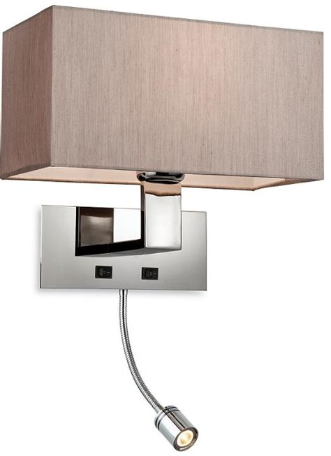 firstlight prince oyster wall light with led reading light 8608oy firstlight lighting