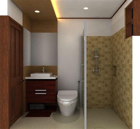 Contoh Desain Kamar Mandi Minimalis 2017 Renovasirumahnet