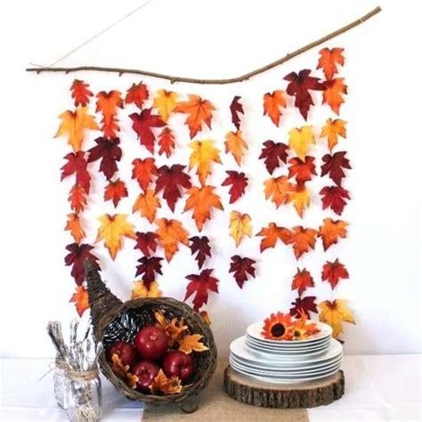 Herbstlaub Basteln Blaetter Deko Aus Papier by Baumbl 228 Tter Optimal Bewahren Und Kreative Herbstdeko Ideen
