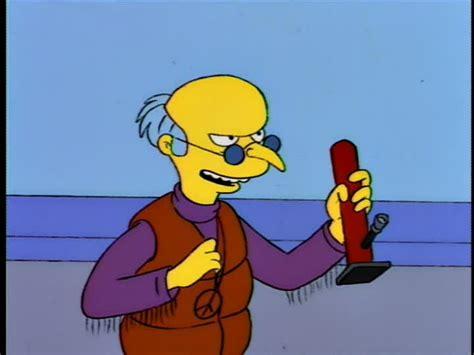 Mr. Burns Wavy Gravy