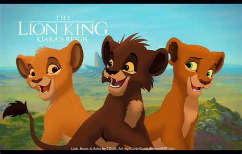 lion king kiaras reign  ravenevert  deviantart