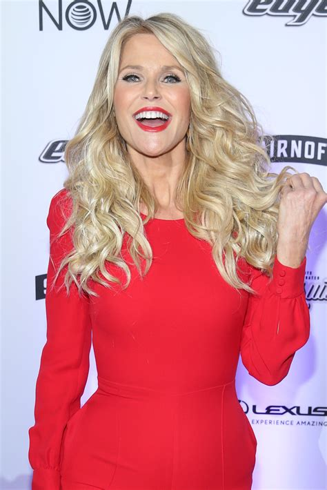 christie brinkleys haircut     younger