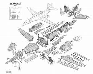 B1 Bomber Diagram