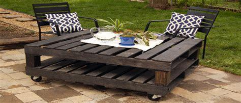 fabriquer un salon de jardin en palette bois