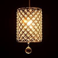 contemporary light fixtures Promotion Modern Crystal Ceiling Light Pendant Lamp ...